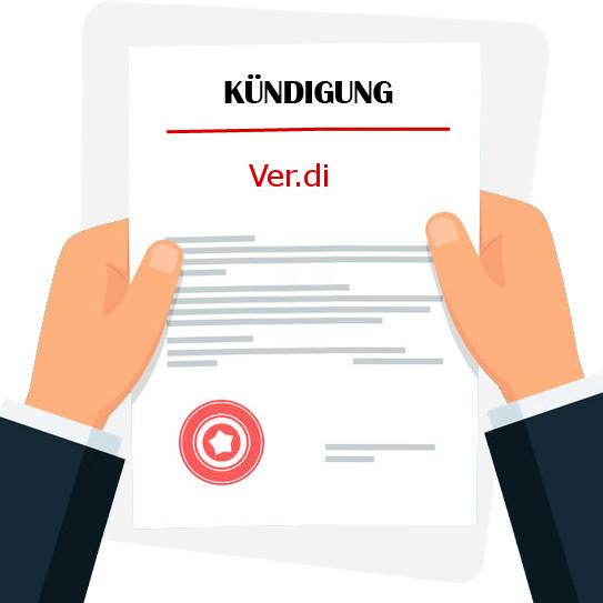 Verdi Kundigen Kostenlose Muster Vorlage Pdf Word 13
