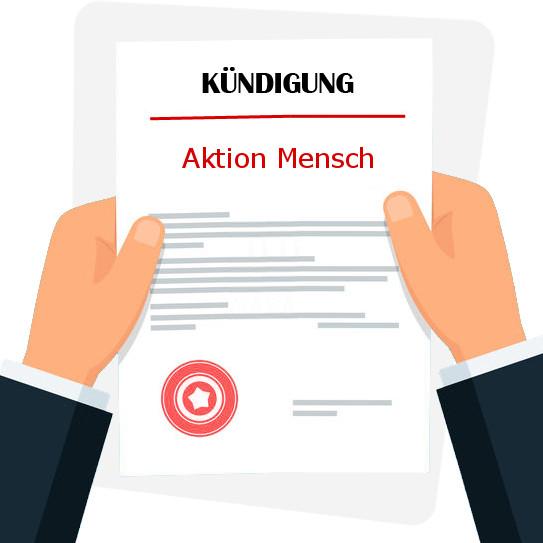 Aktion Mensch KГјndigung Online