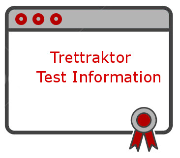 Trettraktor Test