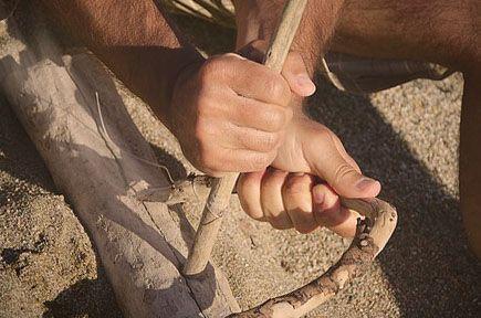 survival kit dauer streichholz metall schlüsselanhänger