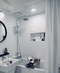 duschstange abmontieren