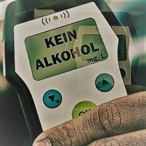 Alkoholtester-test
