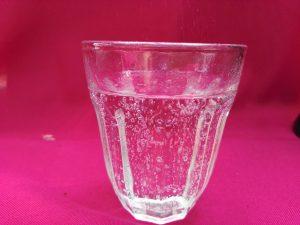 Sodastream DUO Wasserglas-Ergebnis